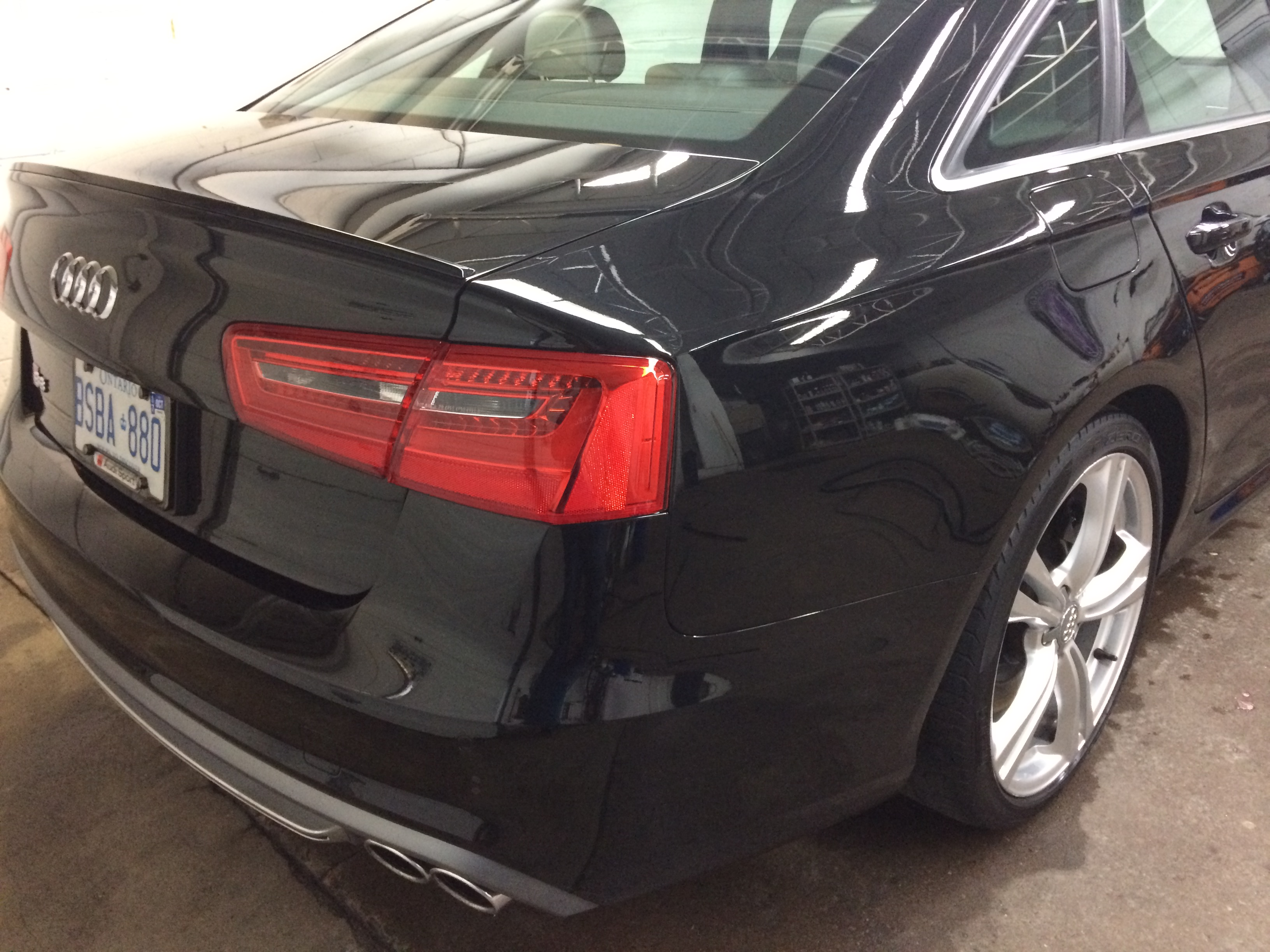 Auto Detailing Toronto >> Audi S6 Paint Correction & Kamikaze Miyabi Coat Ceramic Paint Coating | RS AUTO SPA TORONTO