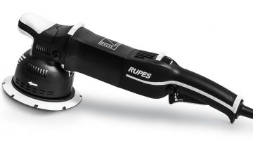 RUPES BigFoot LK 900E Forced Rotation Polisher For Faster Cutting Over Curved Surfaces