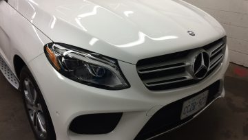 Mercedes GLE 350D Kamikaze Miyabi Coat + ISM Coat Pro Coatings Application