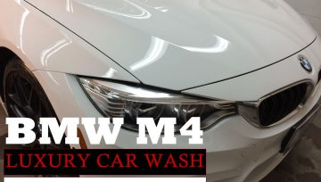 Luxury Car Wash & Ceramic Coating Paint Protection - BMW M4 High End Auto Detailing